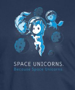 Space Unicorns T-Shirt