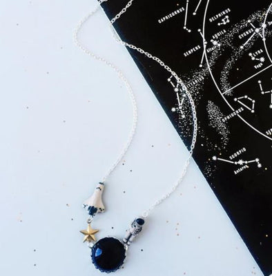 I'm Walkin Here! Astronaut Necklace