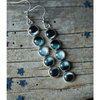 Moon Phase Dangle Earrings