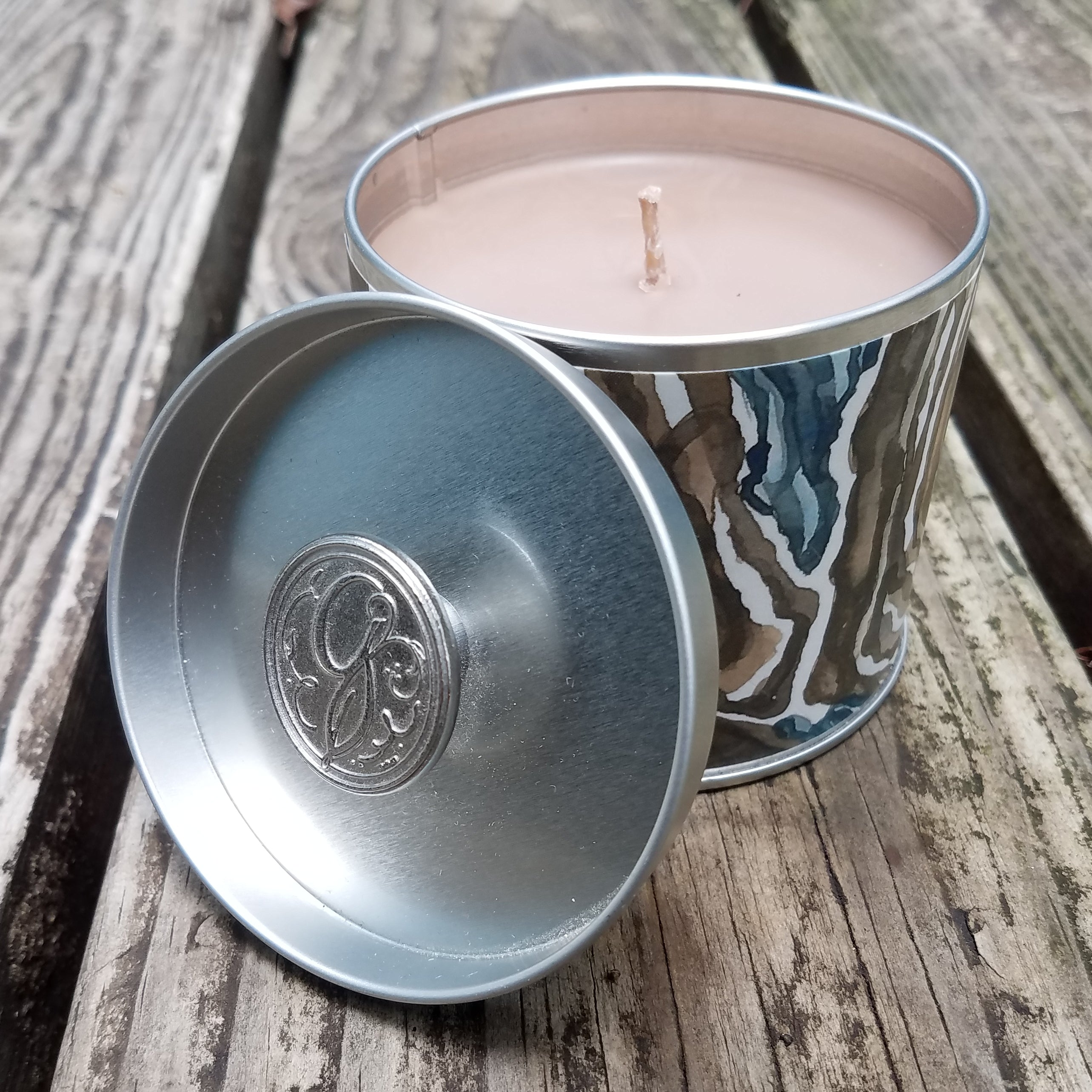 Signature Tin Candle Amber Warmth
