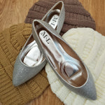 The Cinderella Flat in Silver