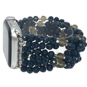Twisted Crystal Beaded Apple Watch Band