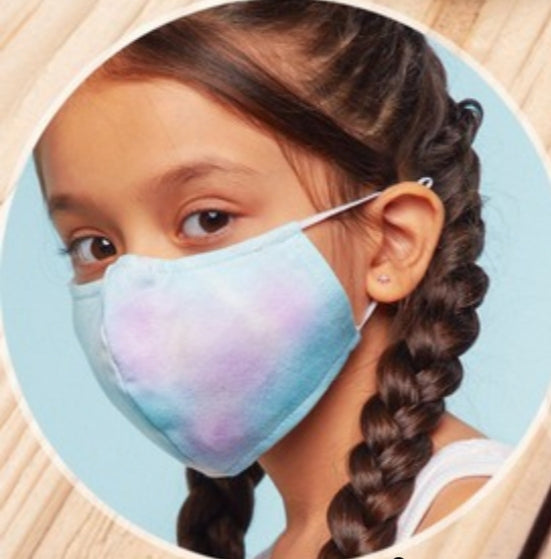 Kids face mask w/design and filter included