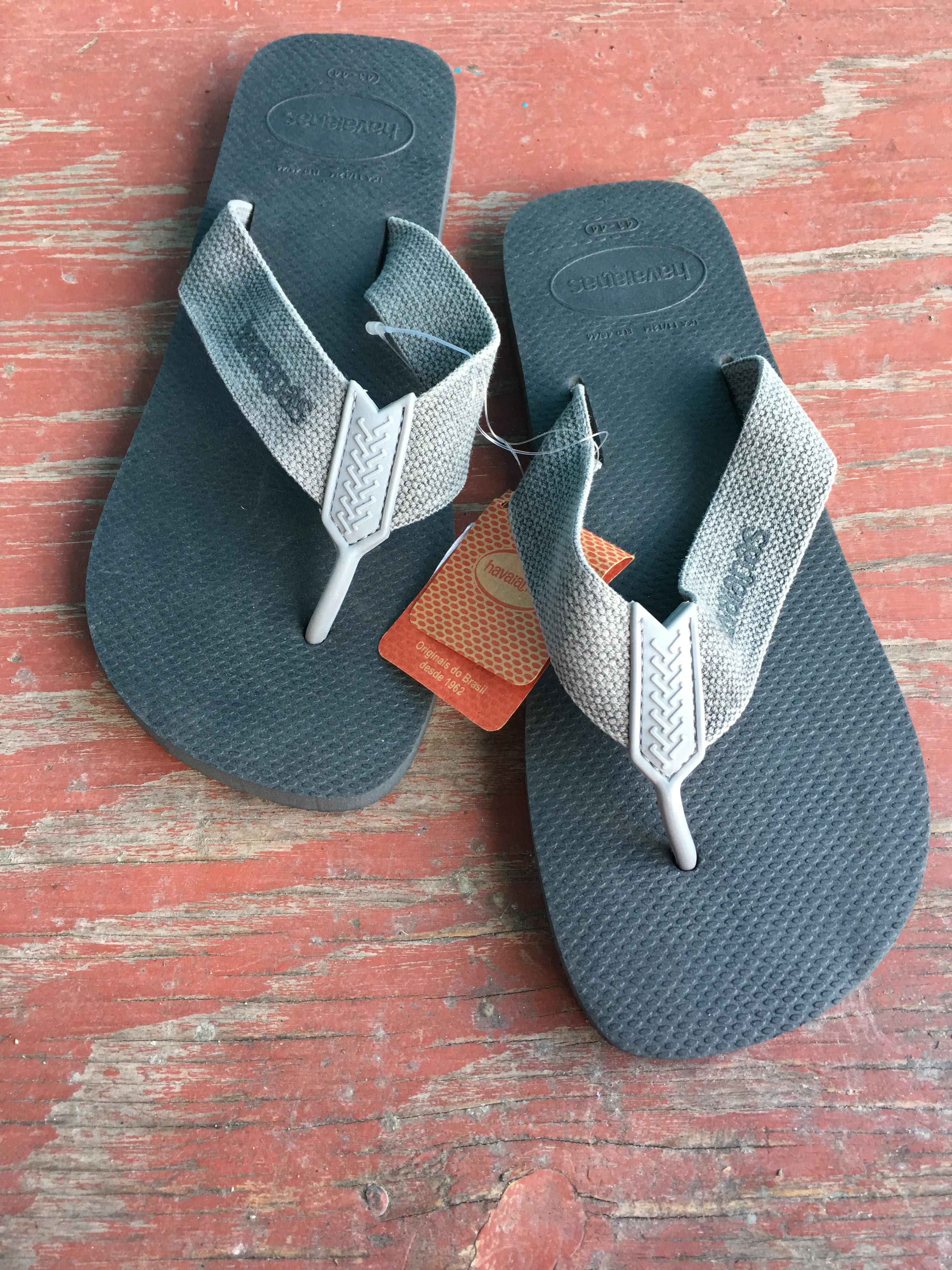 Mixed Grey Woven Sandals