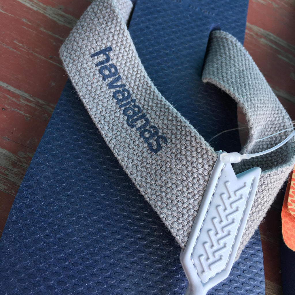 Men's Blue & Grey Woven Sandals