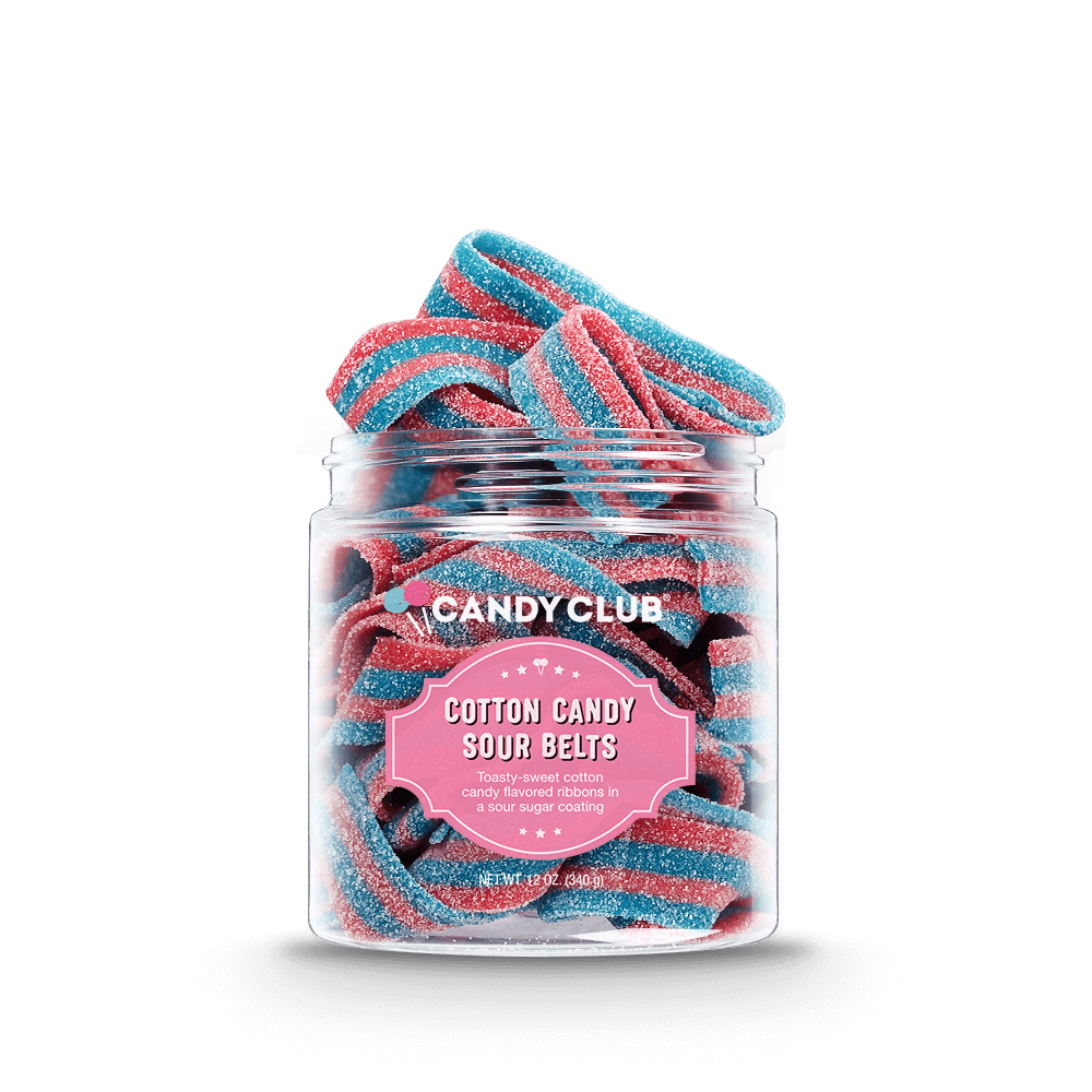 Cotton Candy Sour Belts
