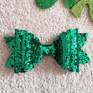 Green Luck Bow