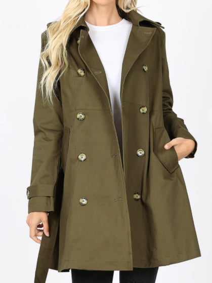 On The Move Coat (More Colors)