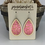 Leopard Love Earrings in Pink (More Options)