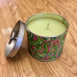 Signature Tin Candle Cucumber Lily