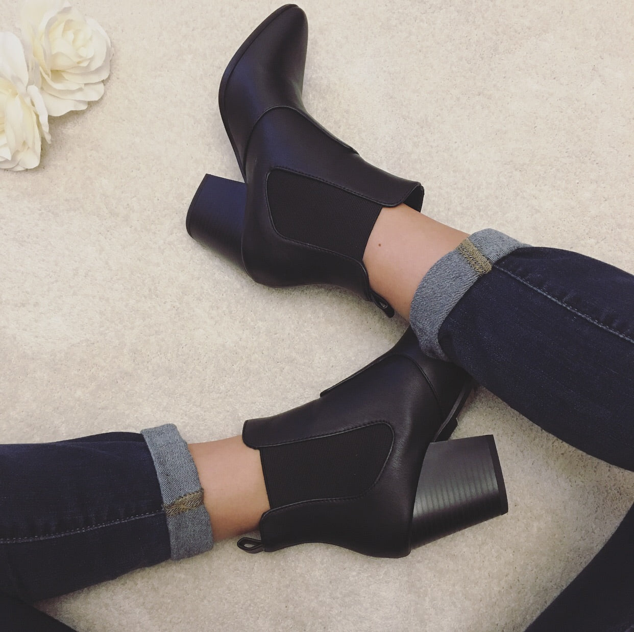 Rebel Soul Booties in Black