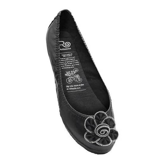 Midnight Rose Rollasole Shoe