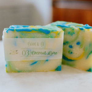 Caron & Co. Bath Soap in Coconut Lime