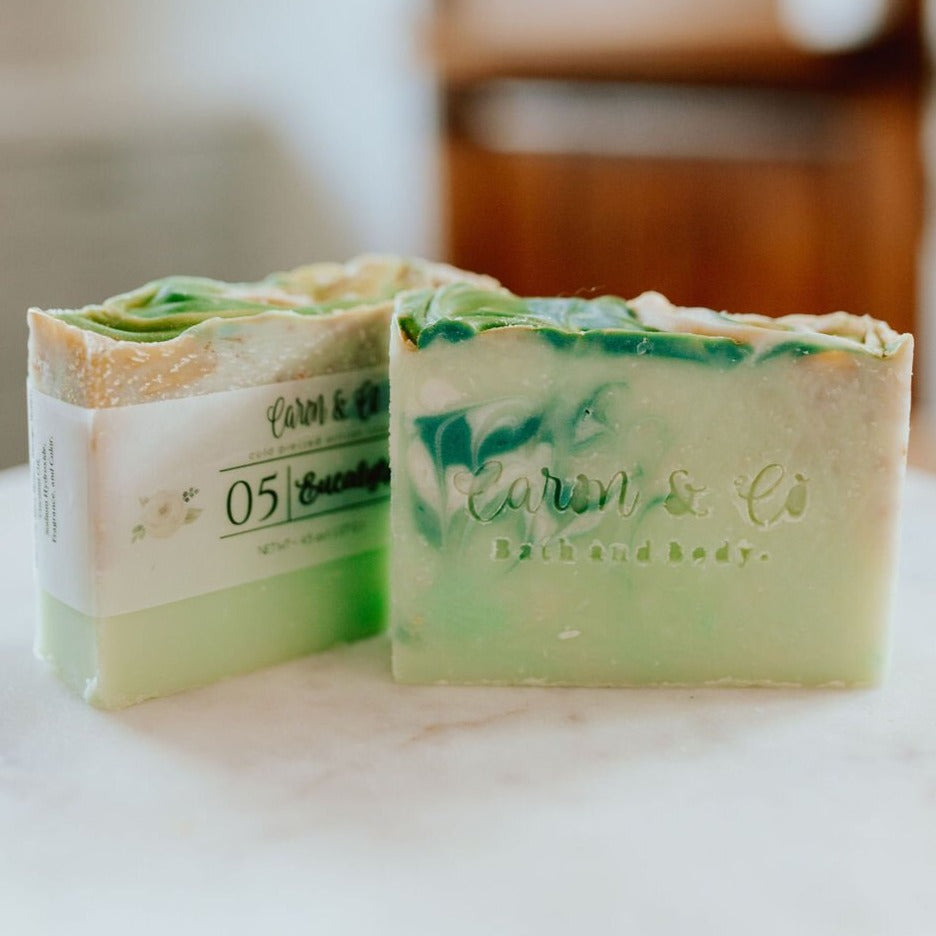 Caron & Co. Bath Soap in Eucalyptus Mint