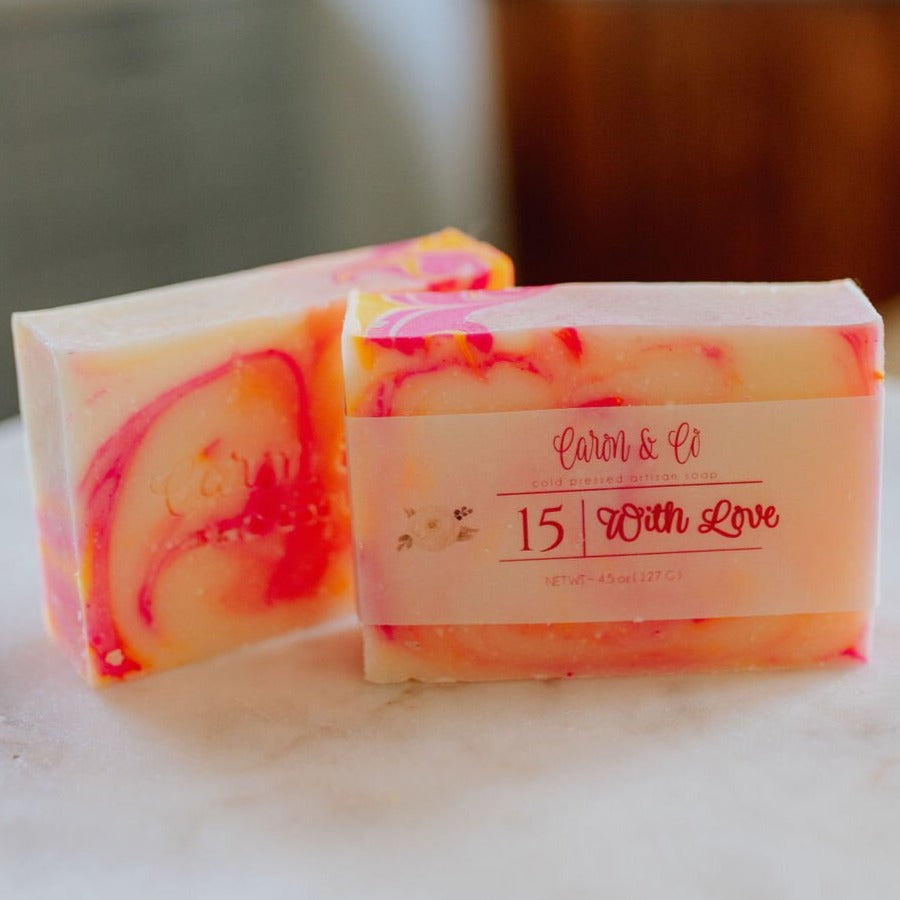 Caron & Co. Bath Soap in With Love