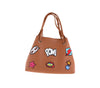POW HANDBAG - BROWN