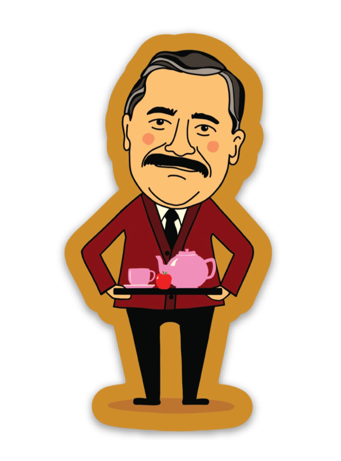Mr. Belvedere Sticker!