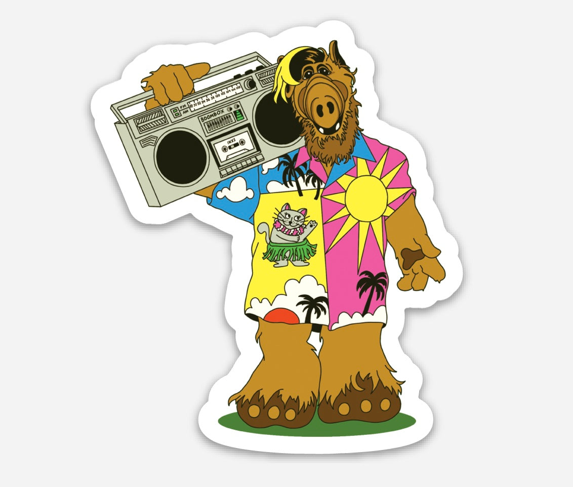 ALF sticker!