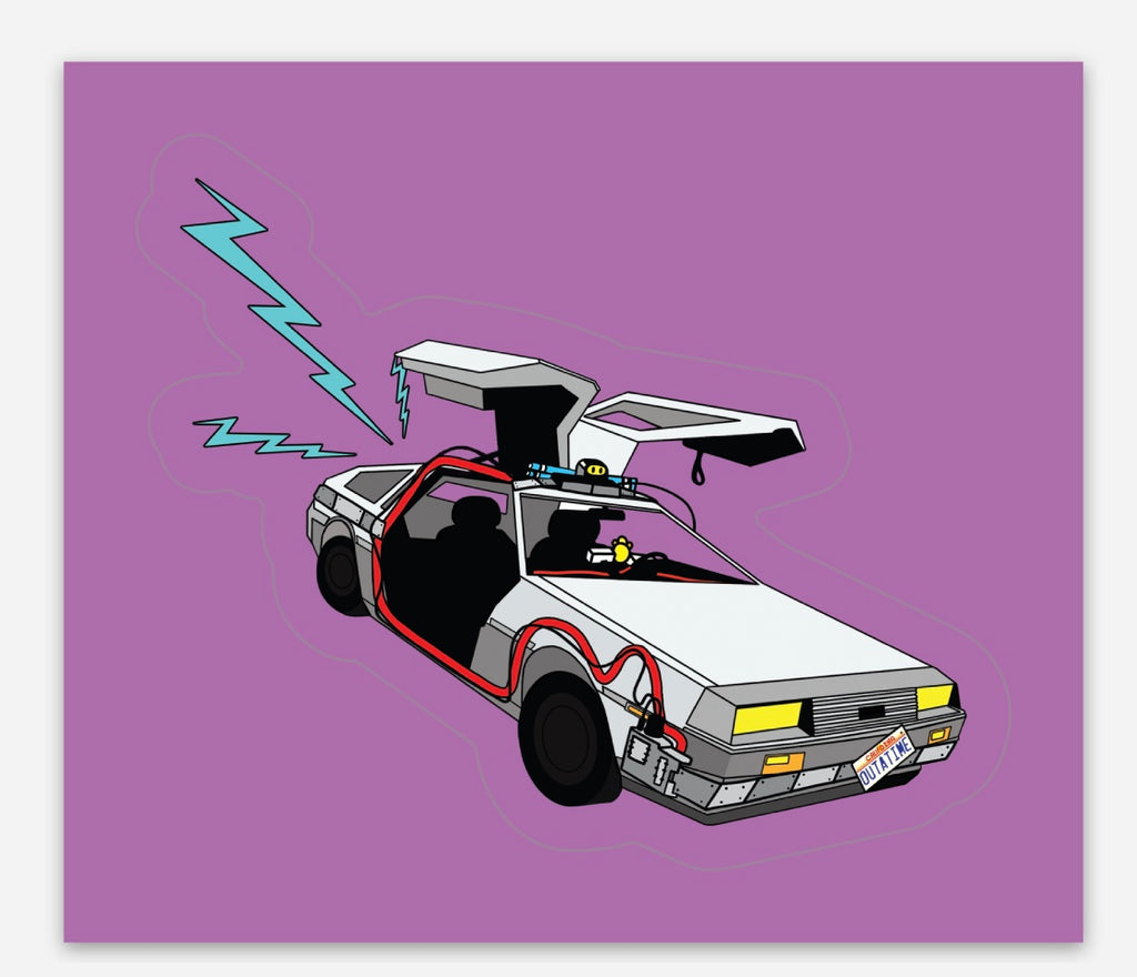 DeLorean Sticker!