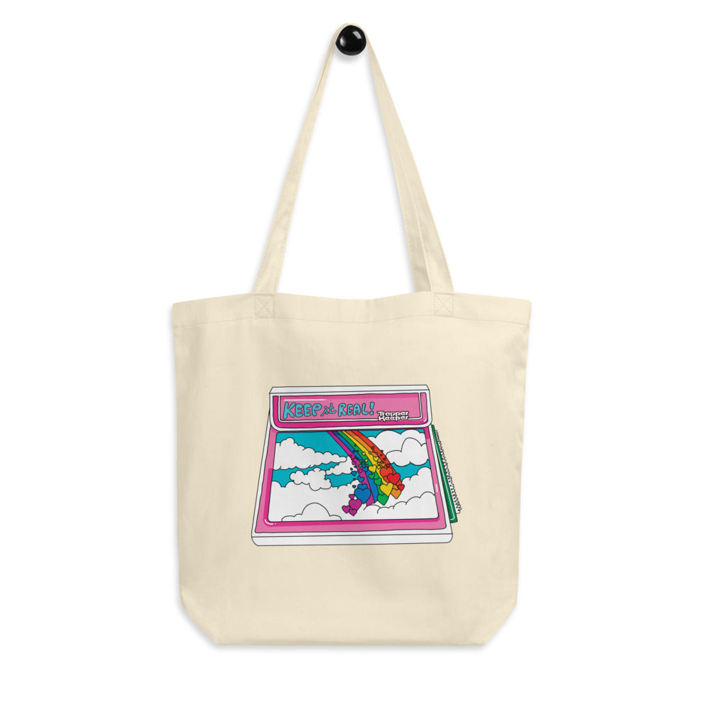 Keep it Real! The Eco Tote Bag.
