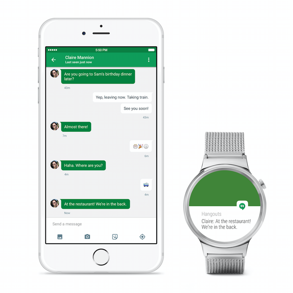 You can now pair an Android Wear smartwatch with an iPhone