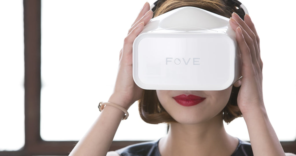 New to Wearables.com: FOVE VR!