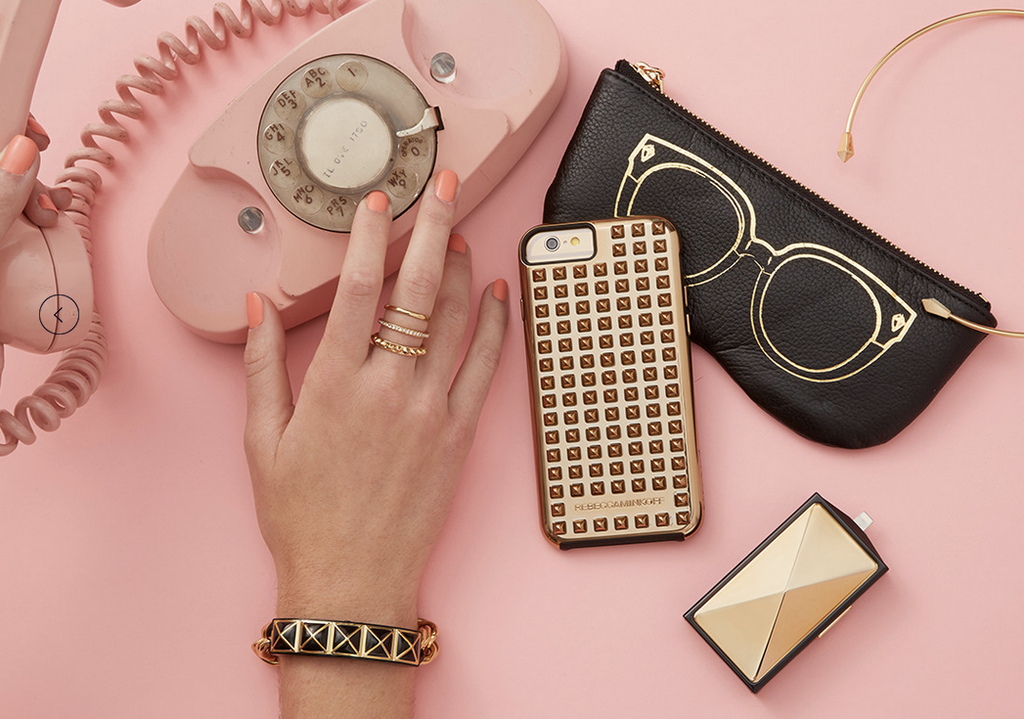 Fashion-favorite Rebecca Minkoff designs tech jewelry to keep your smartphone addiction hidden