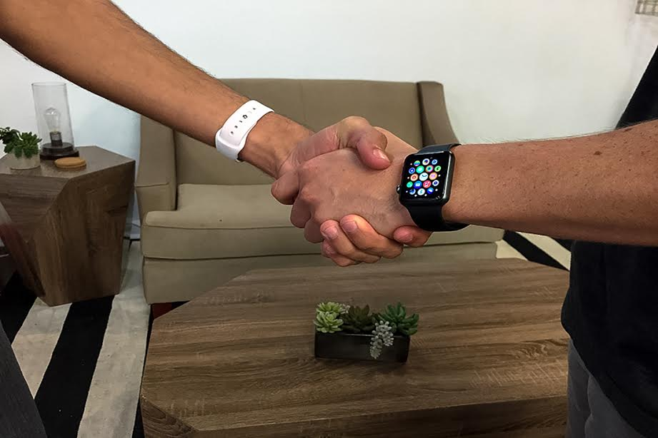 A high-tech high five: Gesture recognition could come to Apple Watch