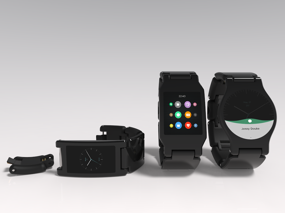 Pick your own features on the first modular smartwatch from Blocks