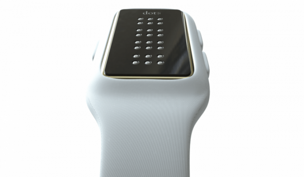 The braille smartwatch isn't revolutionary, but it does illuminate a market with needs