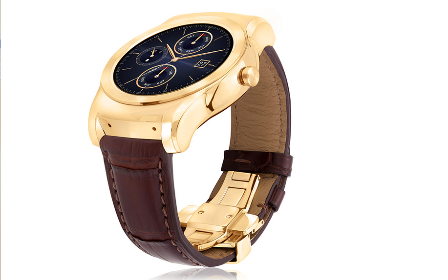 The LG Watch Urbane Luxe is the gold Apple Watch of Androids