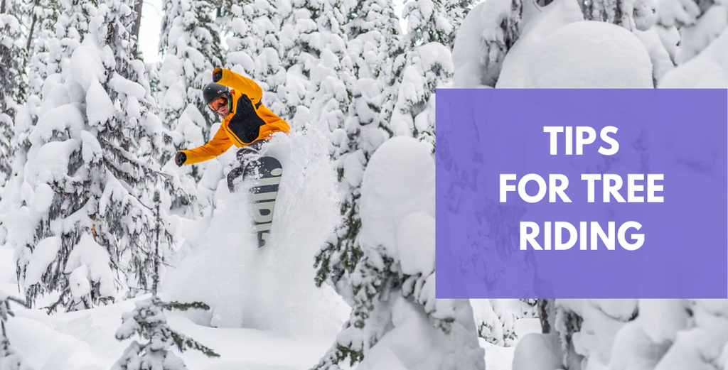 7 #SBQuickTips For Snowboarding In The Trees