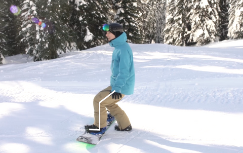 learn to snowboard, snowboard lesson, beginner snowboarding