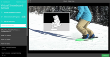 Virtual Snowboard School