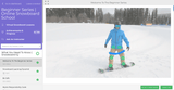 Online snowboard school, learn to snowboard, online snowboard lessons, virtual snowboard school