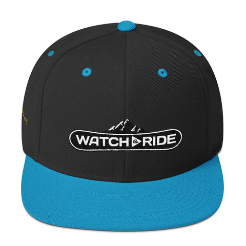 Watch & Ride Snapback Hat