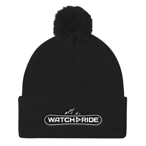 Watch & Ride Pom Pom Knit Cap
