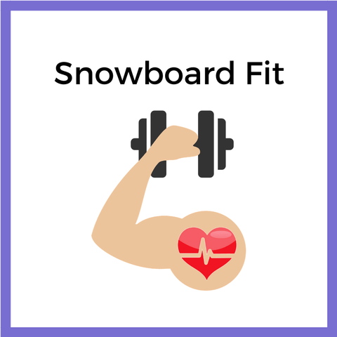 snowboard fitness, snowboard workout, snowboard health, snowboard education