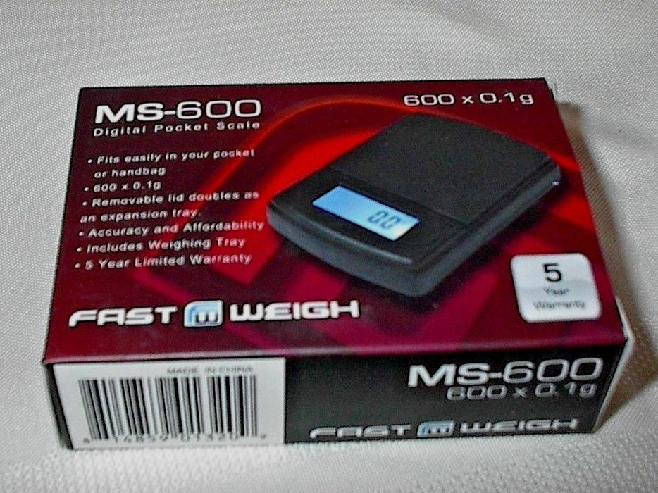 DIGITAL SCALE FAST WEIGHT MS-600 X 0.1G