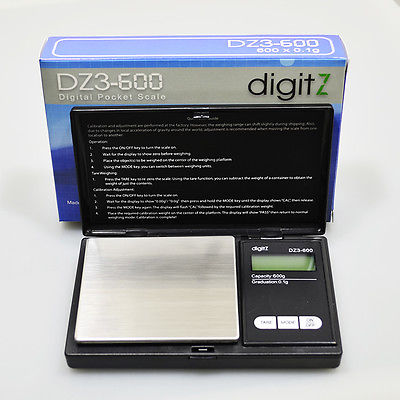 DZ3-600 DIGITAL POCKET SCALE