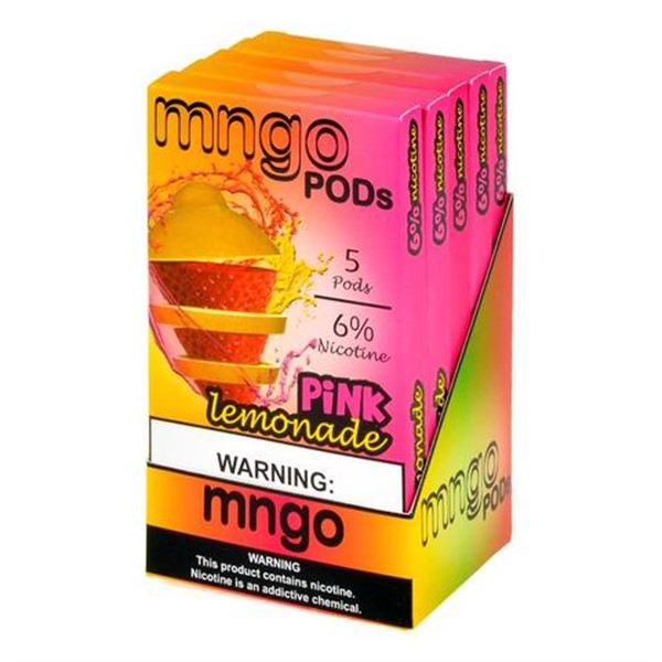 MNGO PRE-FILLED REPLACEMENT SALT NICOTINE PODS FOR JUUL - DISPLAY OF 5