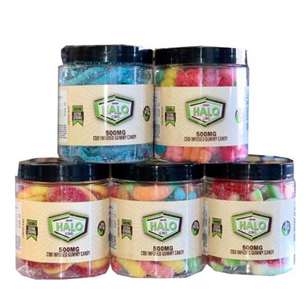HALO CBD INFUSED GUMMY CANDY 500MG