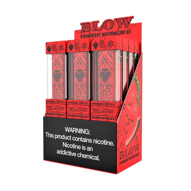 BLOW DISPOSABLE 1.2ML NICOTINE SALT POD DEVICE - DISPLAY OF 12