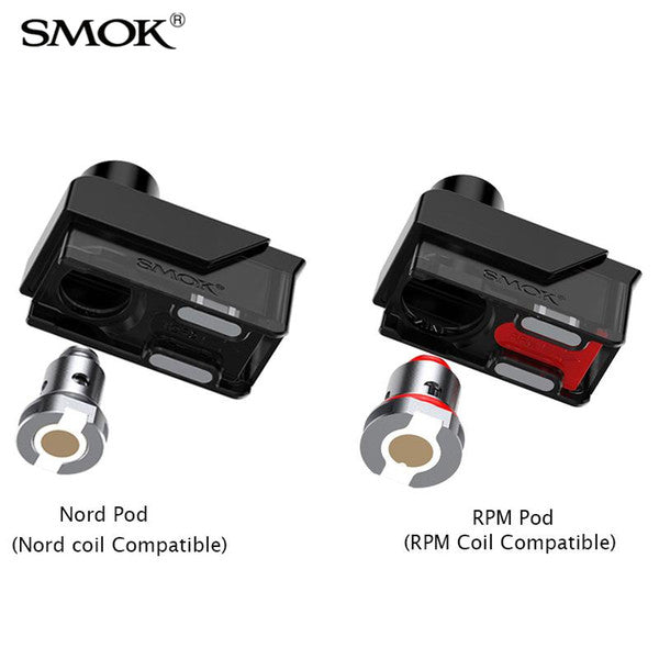 SMOK FETCH MINI 3.7ML REFILLABLE REPLACEMENT POD - PACK OF 2