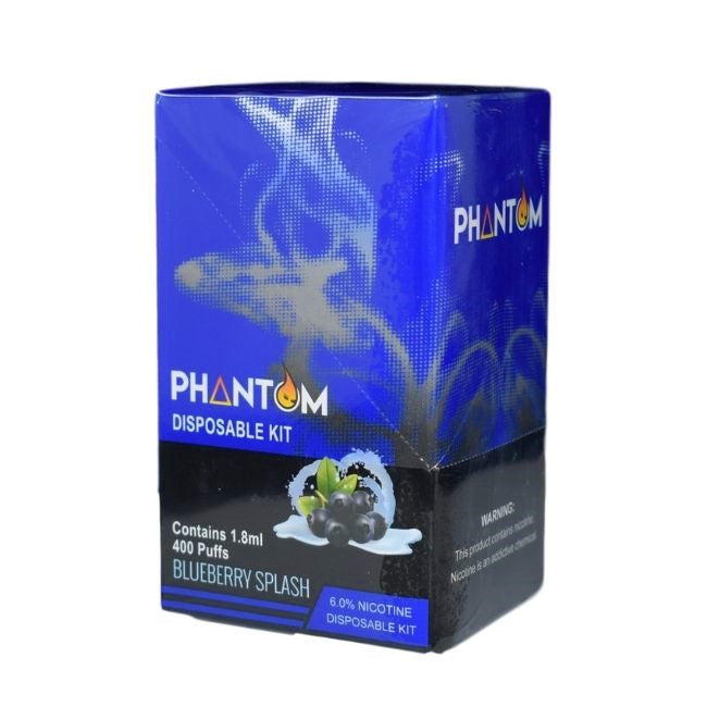 PHANTOM 6% NIC DISPOSABLE DEVICE 1.8ML - DISPLAY OF 10CT