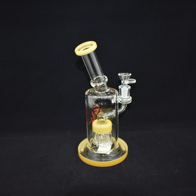AMERICAN MADE CHILL GLASS ULATOR  TREE PERC WATERPIPE 11.2 INCHES 5MM HIGH BOROSILICATE GLASS (JLD85)