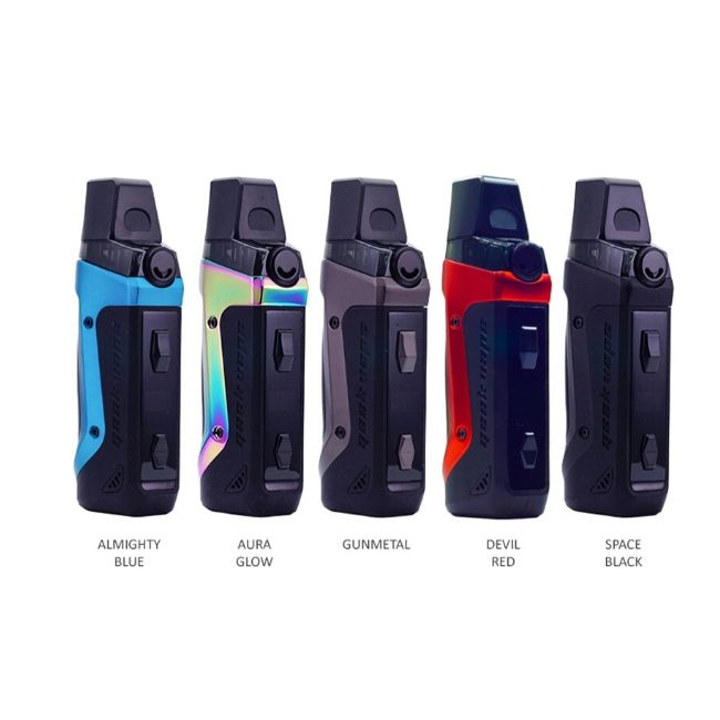 GEEKVAPE AEGIS BOOST 1500MAH POD SYSTEM STARTER KIT WITH 3.7ML REFILLABLE POD