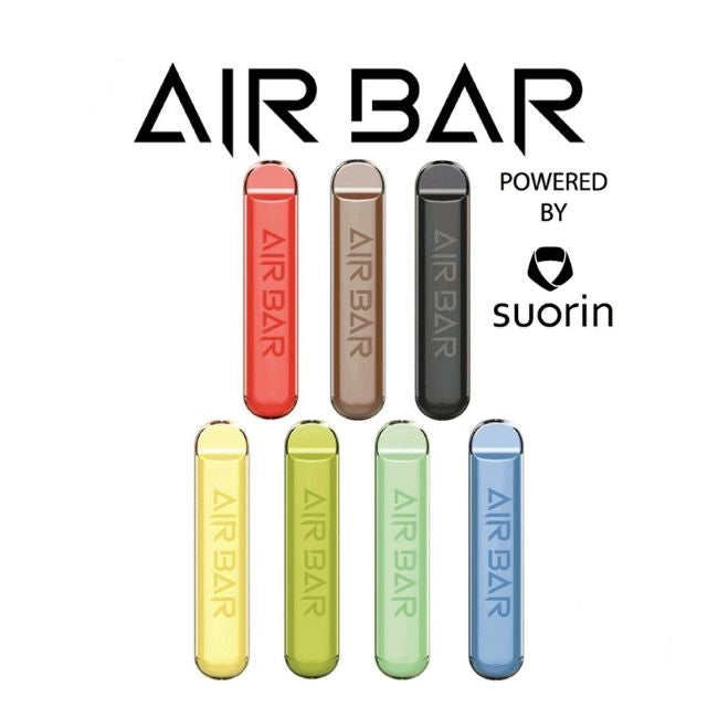 AIR BAR 1.8ML 380MAH PREFILLED DISPOSABLE POD DEVICE POWERED BY SUORIN - DISPLAY OF 10