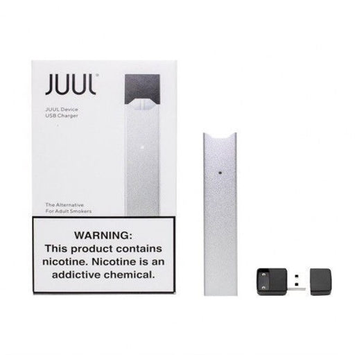 JUUL BASIC KIT SILVER EDITION