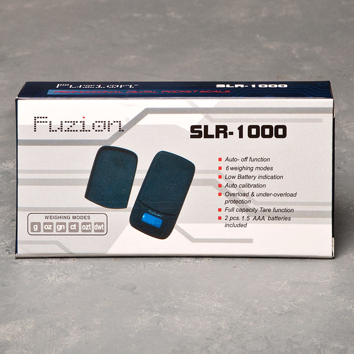 FUSION SLR-1000 DIGITAL SCALE 1000G X 0.1G